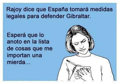 Rajoy dice que tomará acciones legales para defender Gibraltar