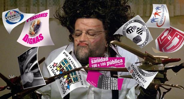 Rajoy Manostijeras 2