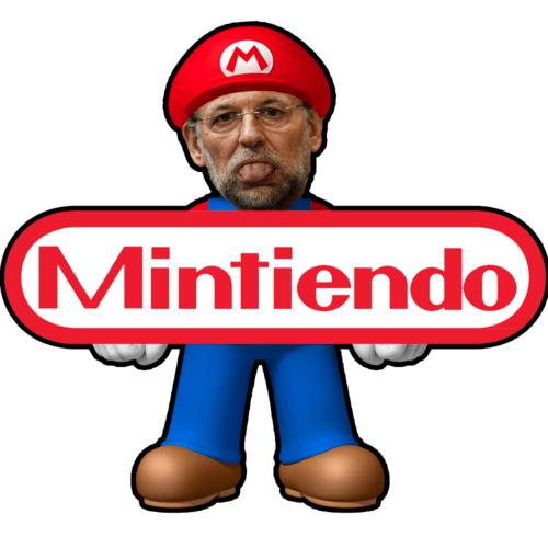 Mintiendo - El nuevo videojuego de Rajoy
