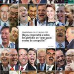 Rajoy propondrá a todos los partidos un gran pacto contra la corrupción. Reacciones