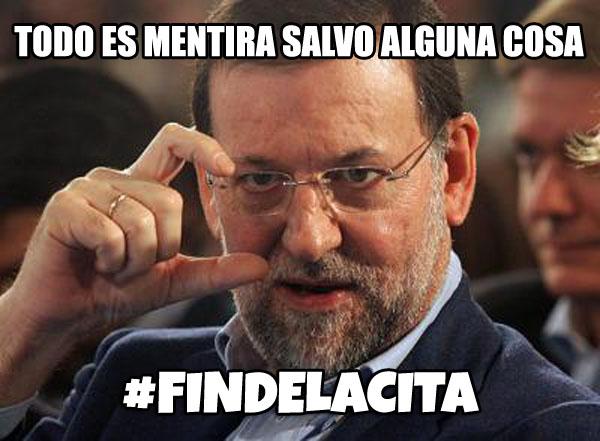 Nace un nuevo meme: #Findelacita