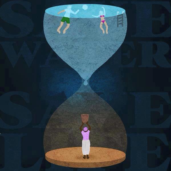 Por el uso racional del agua