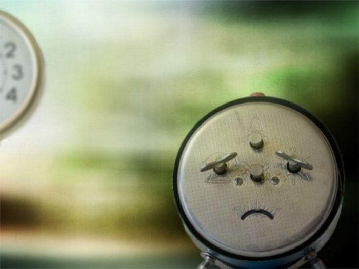 Reloj triste