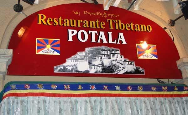 Restaurante tibetano Potala