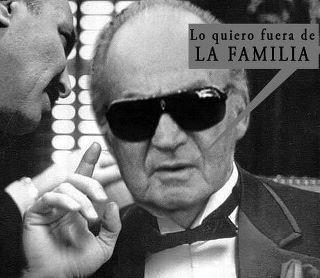 """Juan Carlos: """"Lo quiero fuera de la familia"""""""