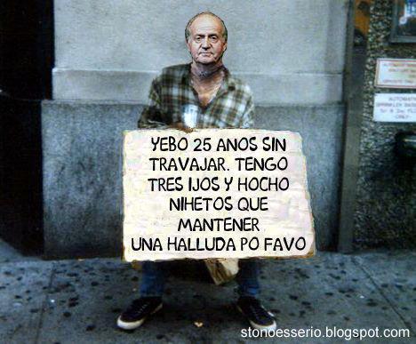 Una ayudita para Juan Carlos
