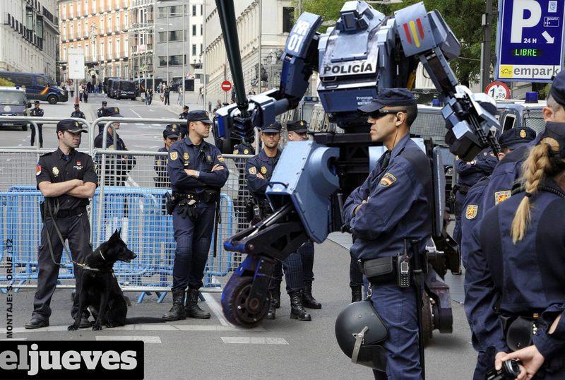 Robot antidisturbios