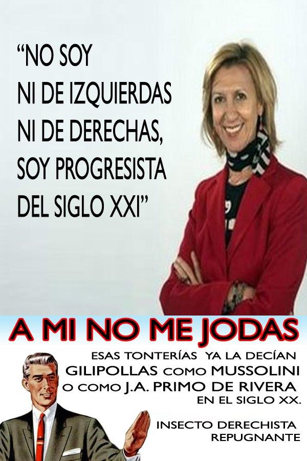 """Rosa Díez, """"no soy de derechas ni de izquierdas"""""""