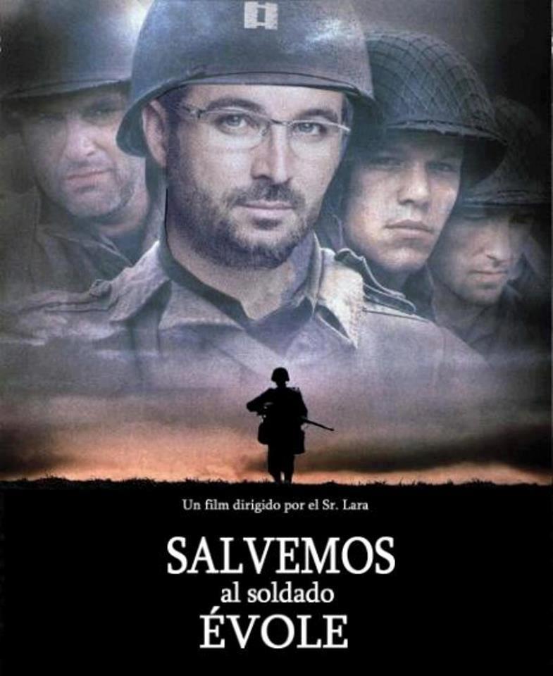 salvemos al soldado evole