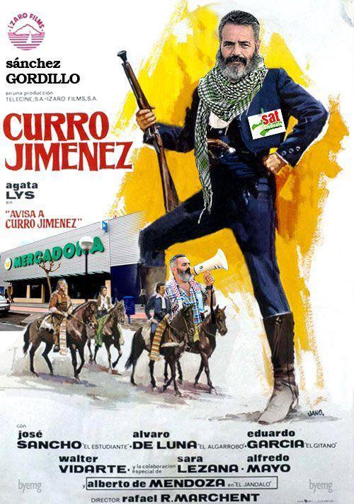 Curro Jiménez feat. Sánchez Gordillo