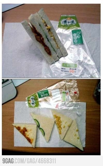 Sandwich made in China