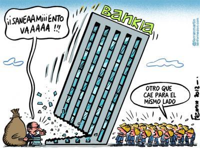 Nuevo saneamiento de Bankia