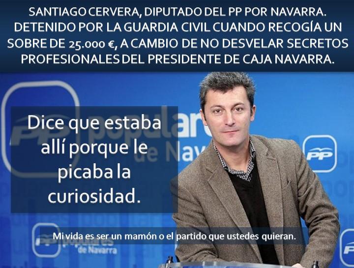 """El """"curioso"""" Santiago Cervera"""