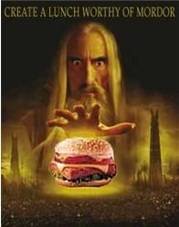 La mejor hamburguesa de Mordor