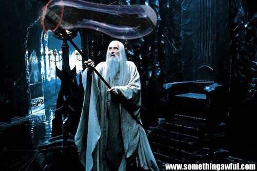 Saruman y su hobbie favorito