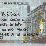 Mensaje a políticos