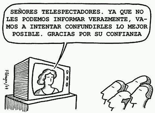 Mensaje de la tele