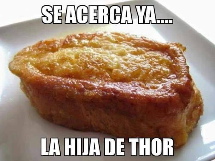 Se acerca ya la Hija de Thor
