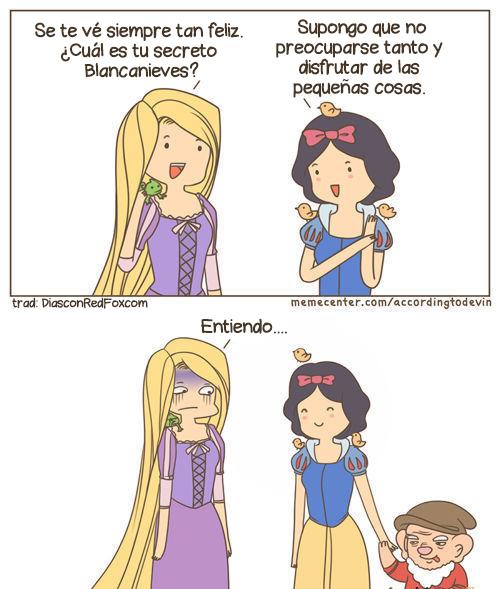 El secreto de Blancanieves para ser feliz revelado