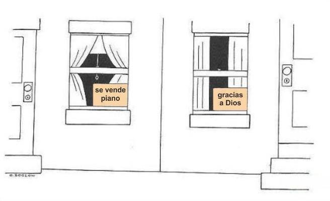 se vende piano - gracias a dios