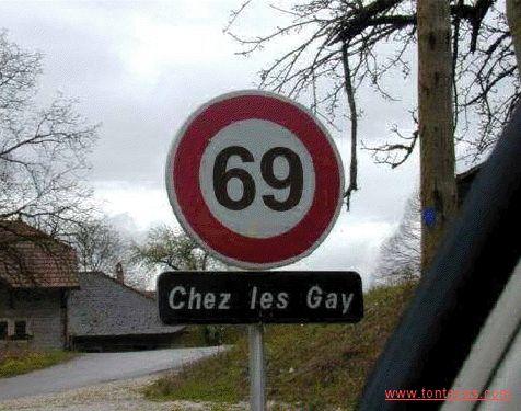 senal 69 chez les gay