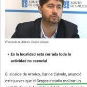 Empiezan a tomar medidas extremas en Galicia