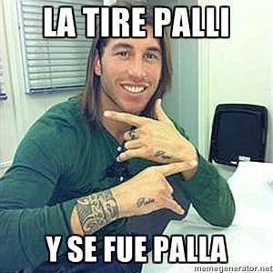 """Sergio Ramos: """"La tire pallí y se fue pallá"""""""