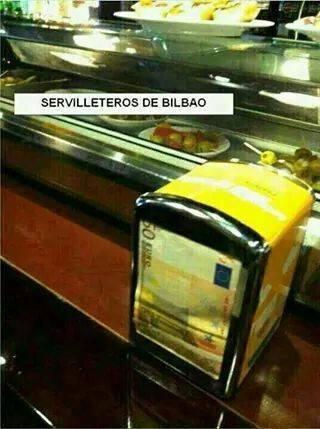 Servilleteros de Bilbao