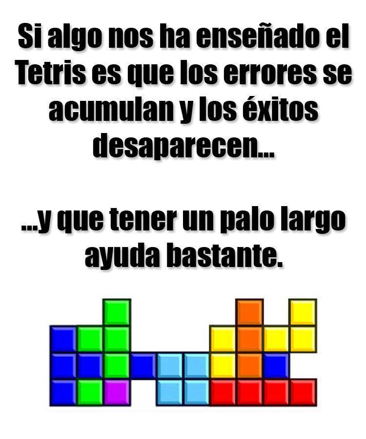 Lo que aprendimos con el Tetris