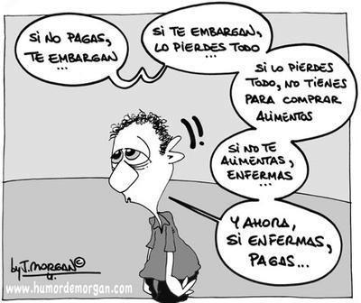 Sin dinero en España