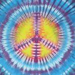 Símbolo de la paz psicodélico