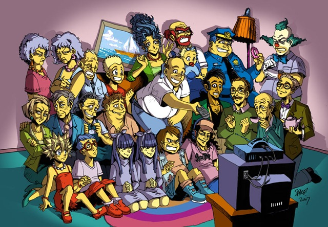 Los Simpson versión anime