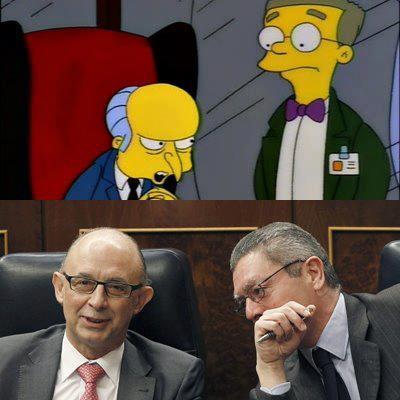 Los Simpson en el Congreso