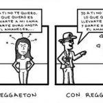 Sin reggaeton – Con reggaeton