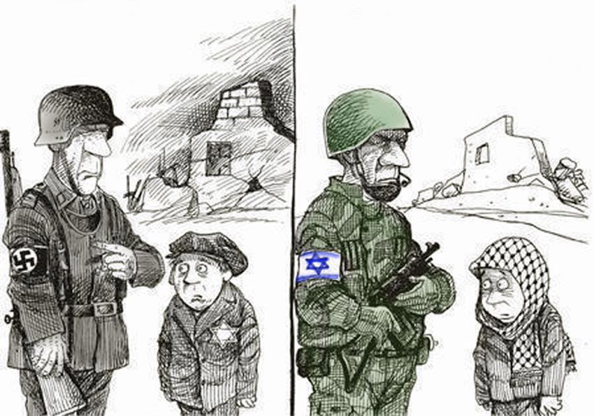Soldado nazi / Soldado israelí