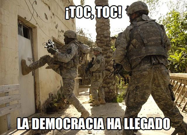Toc toc - La democracia ha llegado