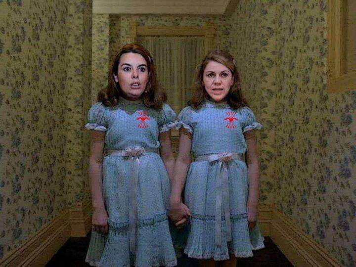"""Quiénes eran en realidad las gemelas de """"El Resplandor""""..."""