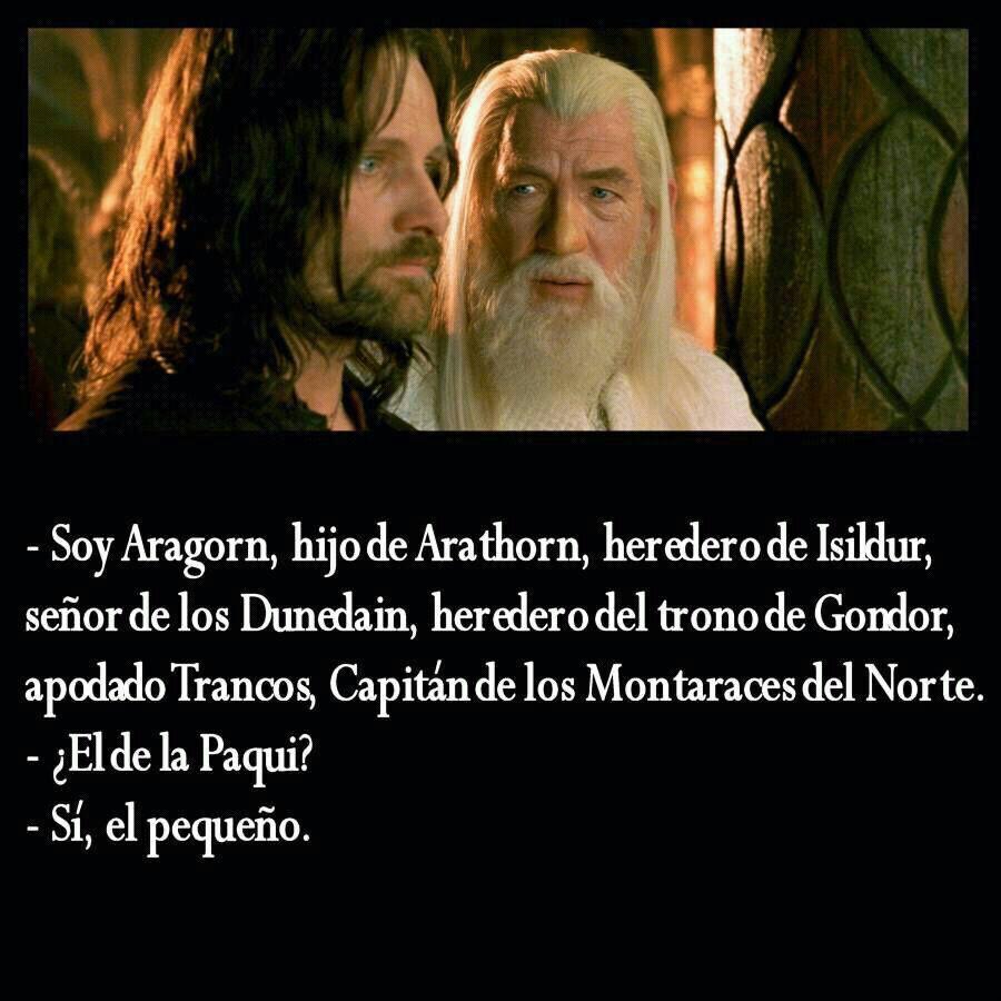 Aragorn, el de la Paqui