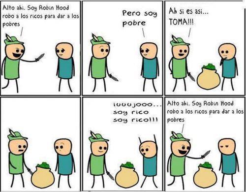 El bucle de Robin Hood