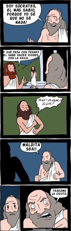 Más sabio que Sócrates