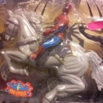 Spiderman y su caballo