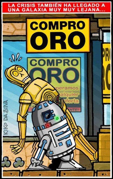 La crisis llega a una galaxia muy lejana...