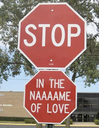 Stop... in the name of love