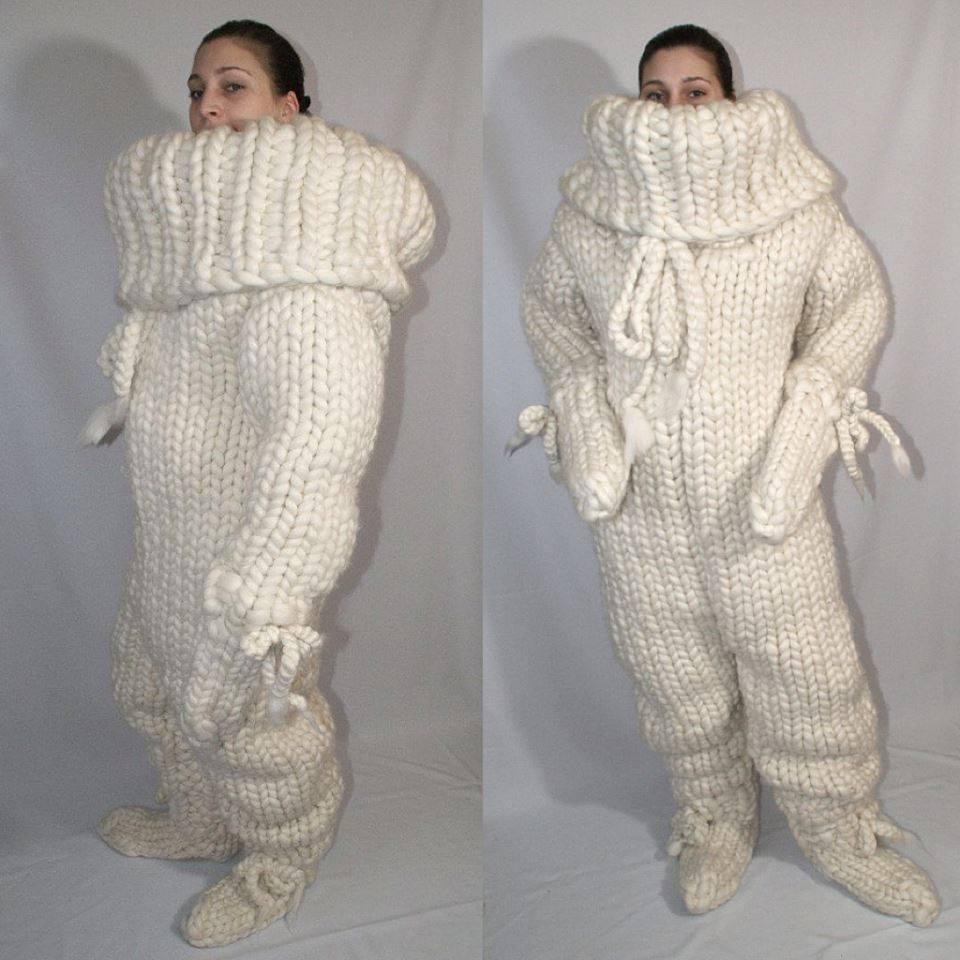 super traje de lana