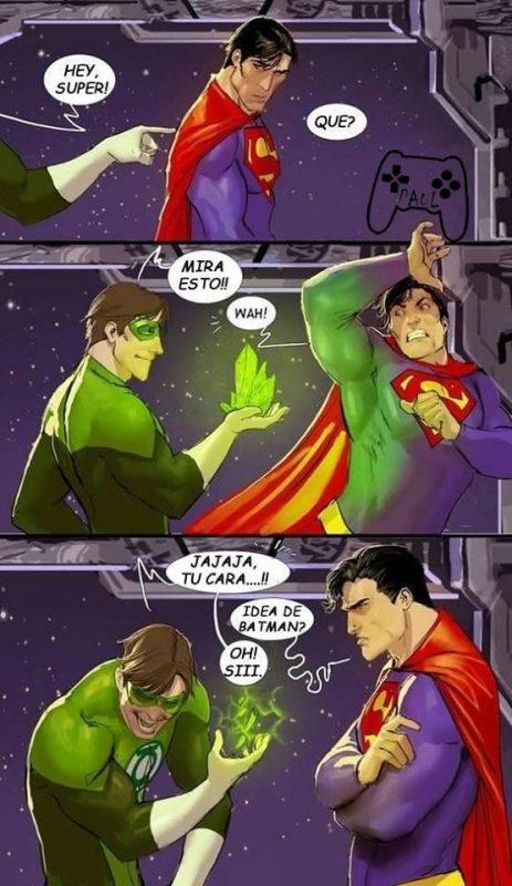 superman green lantern broma