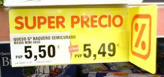 Megadescuento en supermercados Dia