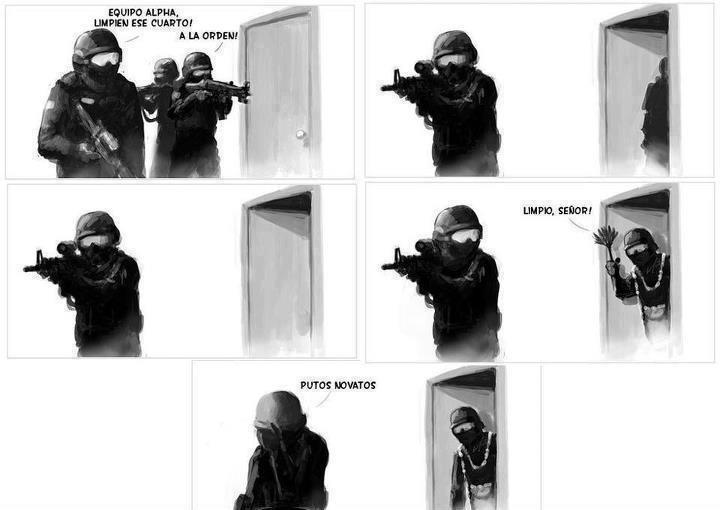 SWATs novatos