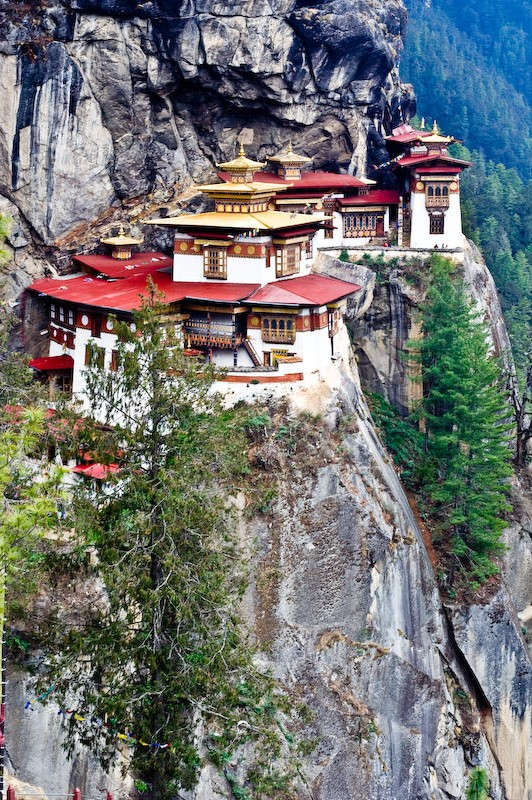 taktsang bhutan - himalaya