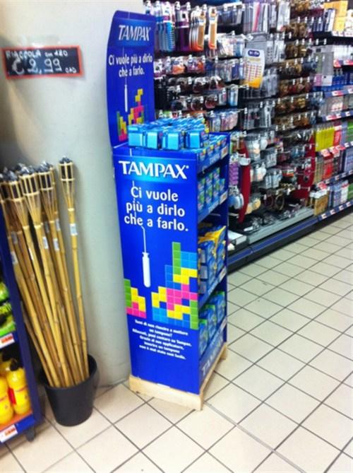 Tampax - Tetris