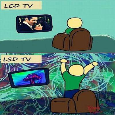 Televisores LCD y televisores LSD